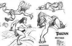 Living Lines Library: Tarzan (1999) - Tarzan