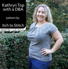 Itch to Stitch Birthday Tour - Call Ajaire's Kathryn with Deep Bust Adjustment
