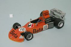 F1 Paper Model - 1974 March 741 Paper Car Ver.2 Free Vehicle Paper Model Download