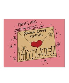'Chocolate' Print