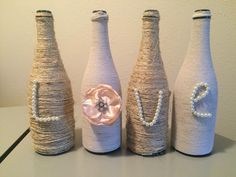 "Twine ""LOVE"" wine bottles"