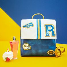 A Great Place to Get Away With It All // Riverdale Varsity Prep Mini Backpack Riverdale Merch, Riverdale Archie, Riverdale Funny, Riverdale Betty, Galaxy Backpack, Mini Backpack, Riverdale High School, Stitch Backpack, Riverdale Fashion