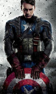 Captain America lockscreen