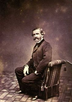 Giuseppe Verdi (1813-1901), one of the greatest composers of opera in music history.