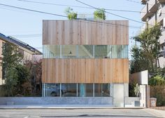 Elding Oscarson's Tokyo house features slices of glazing