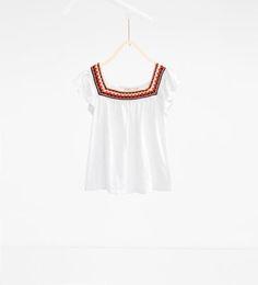 Zara Kids, Modern Country, Tank Tops, Blouse, Crochet, T Shirt, Dresses, Image, Women