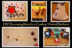 Western Decorating Ideas for a Kid's Cowboy Bedroom