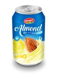 330ml Canned Almond Drink with Milk and Lemon Juice  Almond Milk company Vietnam, Almond Milk Export, Almond Milk factories Vietnam, Almond Milk factory Vietnam, Almond Milk manufacturers companies, Almond Milk wholesalers