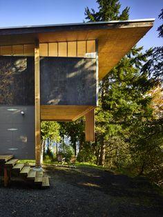 An Eco-Friendly Compact Cabin in Washington | Dwell
