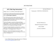 APA Format annotated bibliography sample that can help you ...