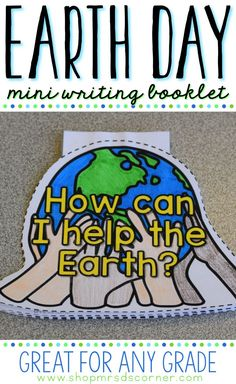Earth Day mini writi