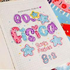 Notebook Art, Notebook Covers, Bullet Journal Banner, Hand Lettering Fonts, School Notes, Manga Drawing, Art School, Graffiti, Doodles