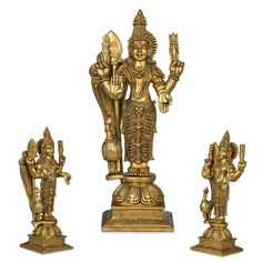 Hindu Statues, Lord Murugan, Brass Statues, South India, Lord Shiva, Ganesh, Brother, Art Pieces, Sculptures