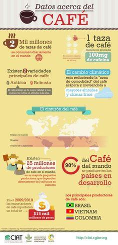 Datos acerca del café.