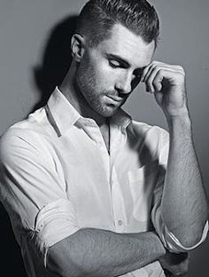 adam levine - white shirt