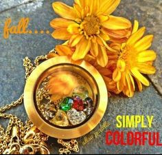 Fall is here ~ you will FALL in LOVE with our lockets! Browse my website to see our customized jewelry that YOU create!  http://locketlife.origamiowl.com