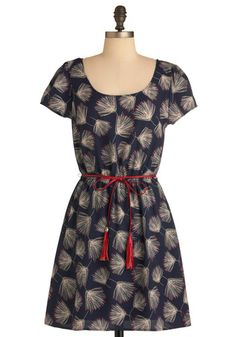 So who wants to give me a present?? Instant Wishes Dress in Navy