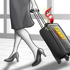 #TammytheTamperlock is great for your #carryon #luggage #tamperlock #travel