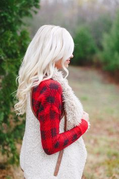 Shearling Vest #JessLeaBoutique #JessLeaBlogger