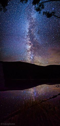 milky way over diemer lake near hagerman pass colorado- can you belive Our sky actually looks like THAT? :) thats why i love camping, if only we didn't have so many crazy light up cities