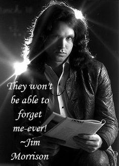 44 Years Since Jim Morrison Passed. Click Picture for Full Tribute Article
