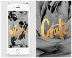 20 Free iPhone Wallpapers to Brighten Up Your Phone via Brit + Co