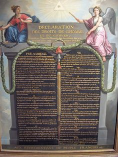 August 26,1789 – The Declaration of the Rights of Man and of the Citizen is approved by the National Constituent Assembly of France.