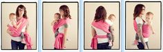 Hip Cross Carry / HCC {from Babywearing 102: Wrapping 360 Project}   ***short wrap carry