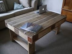 RUSTIC PALLET TABLE decorating-inspiration