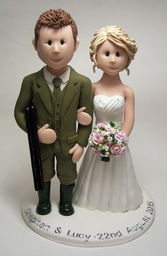Lucy1 Custom Wedding Cake Toppers Topper Cakes Occasion Clay
