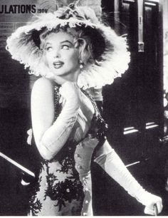 Marilyn photographed during the filming of The Prince And The Showgirl, 1957