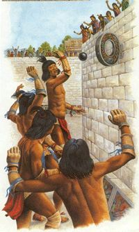 aztec ball game - Google Search