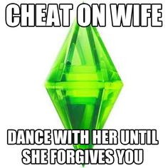 Sims always prepare you for real life…