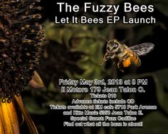 Poster by Robert Martins Event Posters, Special Guest, Bee, Let It Be, Music, Musica, Honey Bees, Musik, Bees