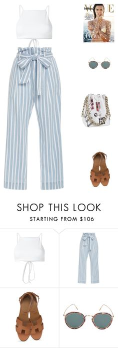 """Viv //"" by prayingtosaintlaurent ❤ liked on Polyvore featuring Ack, Frame and Eyevan 7285"