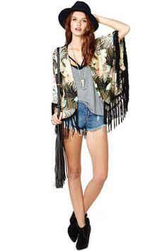On Tropic Kimono