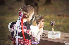 Folk hair decoration