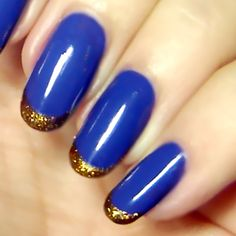\ Blue and Gold \