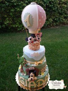 Torta Topolino e Minnie - Mickey mouse and Minnie cake