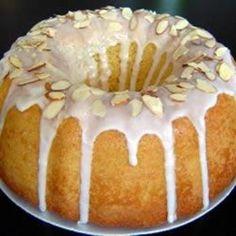 Glazed Almond Bundt Cake