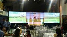 Evento Syngenta - Focalização Tangará da Serra MT  Dia: 04/08/2016  Locação: de equipamento de audiovisual, projeção, sonorização e iluminação.