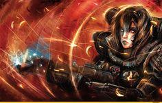Автор тот же что и здесь - http://wh. / Adepta Sororitas (sisters of battle, сестры битвы) :: Ecclesiarchy :: Imperium :: warhammer 40000 :: sister of battle :: фэндомы / красивые картинки и арты, гифки, прикольные комиксы, интересные статьи по теме.