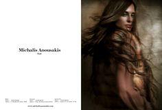 Michalis Anousakis (Hair) Campaign fw2016 lensed by Vasilis Topouslidis