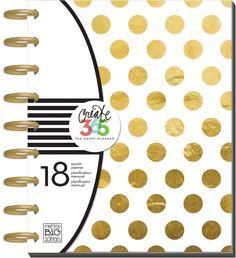 "Amazon.com - me & my BIG ideas PLNR-03 Create 365 The Happy Planner "" My Life"" 18 Month Planner -"