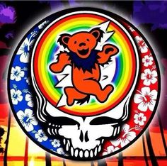 Grateful Dead  |  Dancing Bear            <3  ~Blessed Be  <3  @->->---