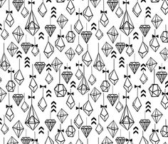 geo ornaments christmas bow black and white scandi modern trendy kids designs fabric by charlottewinter on Spoonflower - custom fabric White Pattern Wallpaper, Black And White Wallpaper, Custom Wallpaper, Designer Wallpaper, Wallpaper Designs, Corpse Bride Movie, White Christmas Background, Summer Prints, Christmas Bows