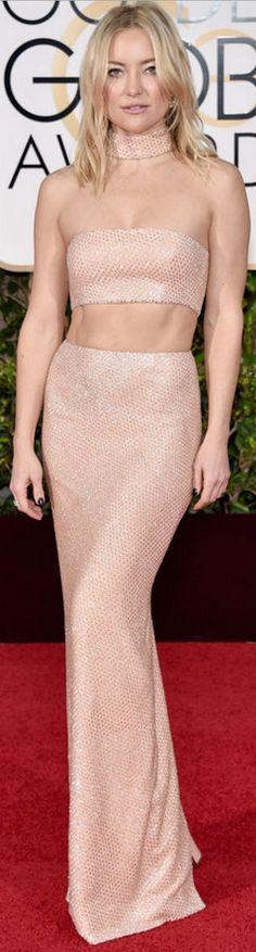Kate Hudson: Dress – Michael Kors  Jewelry – Forevermark  shoes – Giuseppe Zanotti