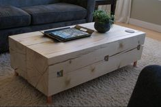 Great idea to make inexpensive table!
