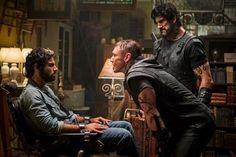 Aidan Turner as werewolf Luke Garroway - The Mortal Instruments:  City Of Bones