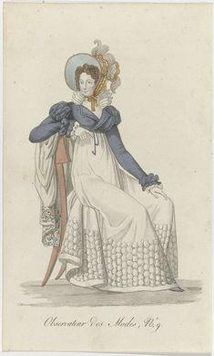 Observateur des Modes, 1818-1823, No. 9, anoniem, 1818 - 1823